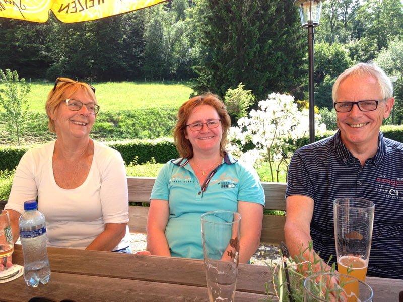 Ont-moeten Sauerland terrasje